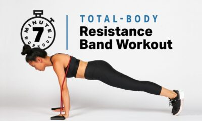 15 Resistance Band Exercises for a Full Body Workout